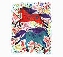 A Horse of Red and Blue Men's Baseball ¾ T-Shirt