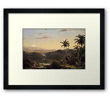 Cotopaxi Framed Print
