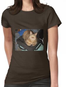 Sonic the Cat 1 Womens Fitted T-Shirt