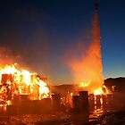 Fire at Visy Paper Mill Tumut 2 by John Vandeven