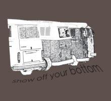 VW Kombi-bottoms - show off your bottom Baby Tee