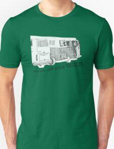 VW Kombi-bottoms - show off your bottom Unisex T-Shirt