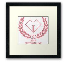Girls' Generation (SNSD) SMTOWN LIVE Framed Print