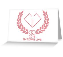 Girls' Generation (SNSD) SMTOWN LIVE Greeting Card