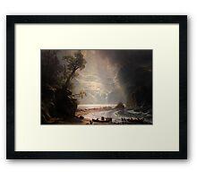 Puget - Albert Bierstadt Framed Print