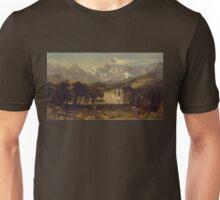 Lander's Peak - Albert Bierstadt Unisex T-Shirt