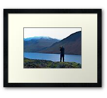 Shooting the Water at Wastwater Framed Print