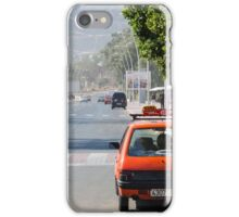Moroccan taxi iPhone Case/Skin