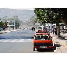 Moroccan taxi Photographic Print