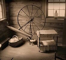 Old Spinning Wheel by RickDavis