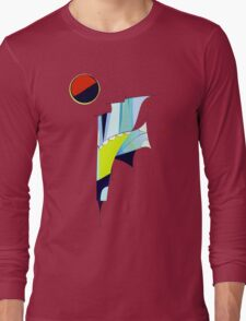 Outer Space Command Station Long Sleeve T-Shirt