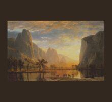 Valley of Yosemite - Albert Bierstadt T-Shirt