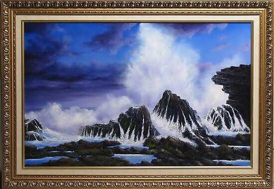 SEA SPRAY by John Cocoris