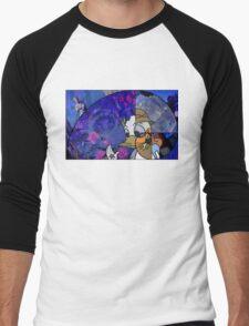 Donald Duck in Mathmagicland Men's Baseball ¾ T-Shirt