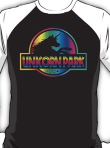 Unicorn Park Jurassic Parody T Shirt T-Shirt