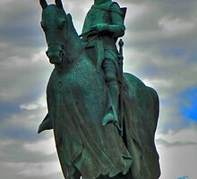 Memorial Statue of Robert the Bruce by Kirsty Auld