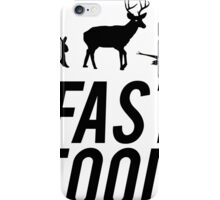 Fast Food Deer Hunter Venison iPhone Case/Skin