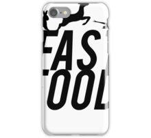 Fast Food Deer Hunter Venison iPhone Case/Skin