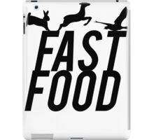Fast Food Deer Hunter Venison iPad Case/Skin