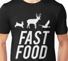 Fast Food Deer Hunter Venison Unisex T-Shirt