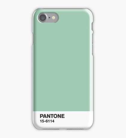 Pantone 15-6114 iPhone Case/Skin