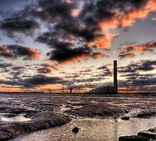Isle of Grain Power Station by Robert Radford