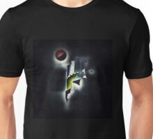 Outer Space Command Station Remixed Unisex T-Shirt