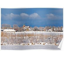 Winter in Renesse Poster