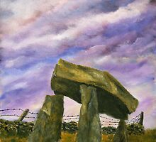 Legananny Dolmen by Les Sharpe