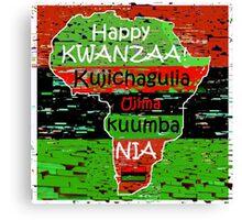 Kwanzaa Celebration Canvas Print