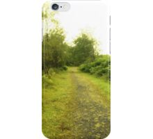 A Lonely Forest Path iPhone Case/Skin