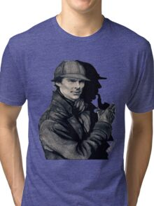 The One and Only Sherlock Holmes (5% OFF) Tri-blend T-Shirt