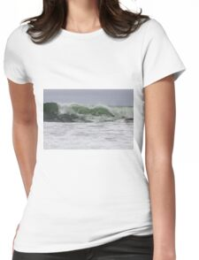 Waves of San Francisco  Womens Fitted T-Shirt