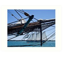 The Tall Ships Arrive in Toronto Art Print