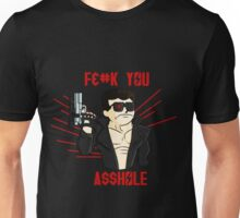 CYBORG FROM THE FUTURE Censored Version  Unisex T-Shirt