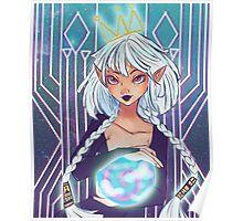Elf Goddess Poster