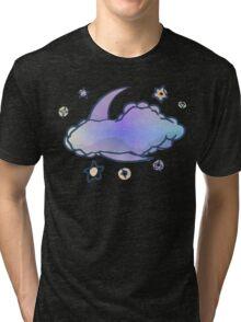 PEACE-Moon & Stars Tri-blend T-Shirt