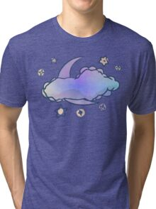 PEACE-Moon & Stars Tri-blend T-Shirt