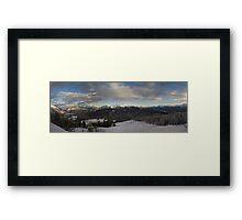 Backcountry Framed Print
