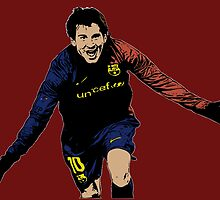 Messi | FC Barcelona by SALSAMAN