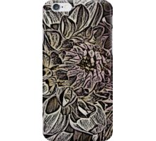 Dahlias in the garden  iPhone Case/Skin