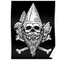 Gnome Skull Poster