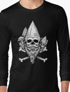 Gnome Skull Long Sleeve T-Shirt