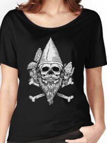 Gnome Skull Women's Relaxed Fit T-Shirt