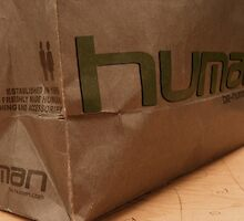 human Brown Bag  by Chrismelyn
