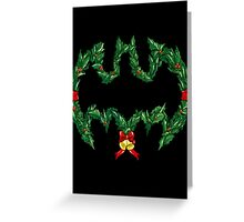 Batman Christmas Greeting Card