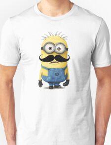 Funny Minions Moustache T-Shirt