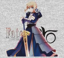 fate zero stay night saber anime manga shirt by ToDum2Lov3