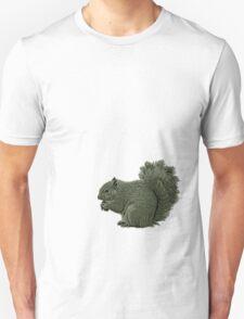 Nutty Squirrel Showdown Unisex T-Shirt