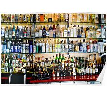Well Stocked Bar Poster